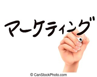 Japanese words for Marketing