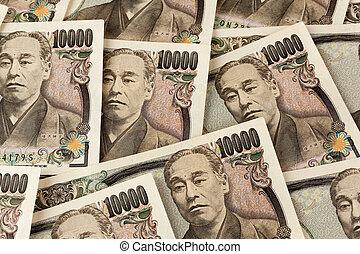 japanese yen bills. money from japan