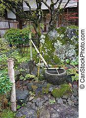Japanese zen garden decoration