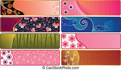 japanische banner