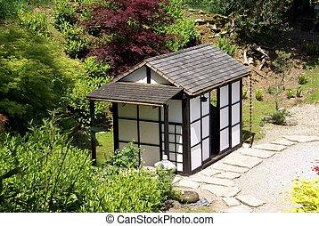 Gartenhaus altes alte architektur - Japanisches gartenhaus ...
