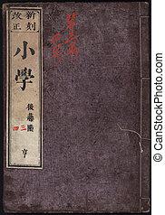 japanner, boek, voorst dekken