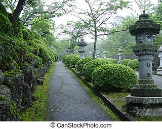 japansk, parkera