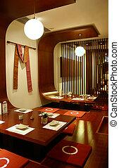 japansk, restaurang