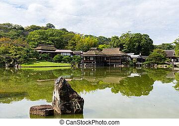 japanska trädgård
