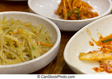 Japchae chap chae Korean Glass Noodles