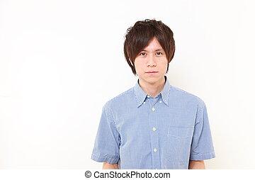 japończyk, młody mężczyzna