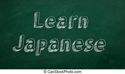japończyk, uczyć się