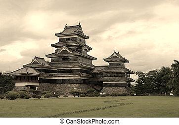 japończyk, zamek