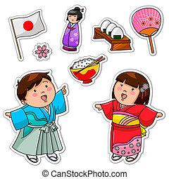 japonés, colección