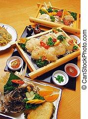 japonés de comida