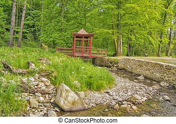 Estilo pasto o c sped verde japon s estilo japon s - Cesped japones fotos ...
