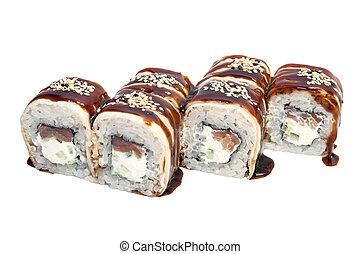 japonés, rollos