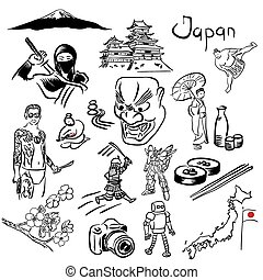 japon, ensemble