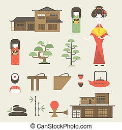 japon, icônes