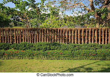 escrime bambou bois japonais jardin jardin escrime image de stock recherchez photos. Black Bedroom Furniture Sets. Home Design Ideas