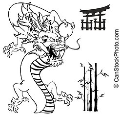 Tatouage Dragon Japonaise Tshirt4 Tatouage Format Japonaise