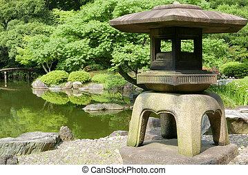 pierre ext rieur jardin zen lanterne japonaise pierre images de stock rechercher des. Black Bedroom Furniture Sets. Home Design Ideas
