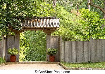 portail jardin japonais colorado botanique gardens image recherchez photos clipart. Black Bedroom Furniture Sets. Home Design Ideas