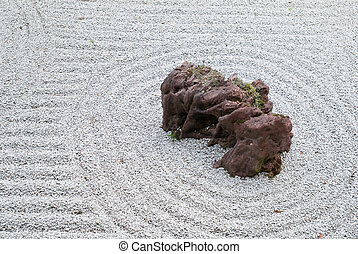 japonaise, zen, rocaille
