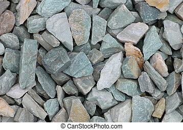 japoneses, jardim zen, pedras