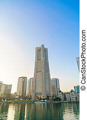 japonia, listopad, trzeci, jokohama, 24, japan., -, najpoważniejszy, miasto, jokohama, :