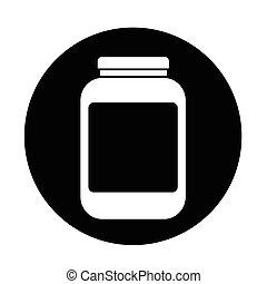 jar icon illustration design