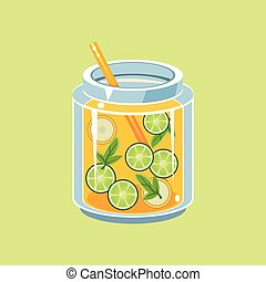 Jar Of Lemonade