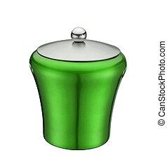 Jar on White Background