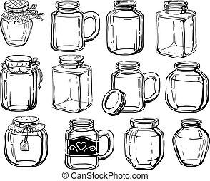 Jar set.