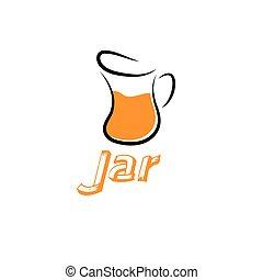 jar vector design template