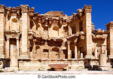 Jarash - Jordan - Jerash is known for the ruins of the Greco...