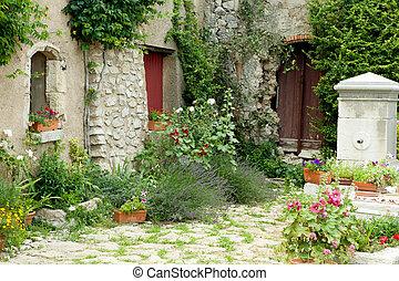 jardín, en, provence