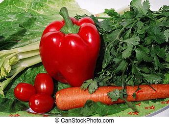 jardín, vegetales