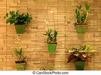 jardim, vertical
