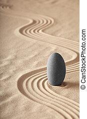 jardim zen, symplicity, e, harmonia, forma, um, fundo, para,...