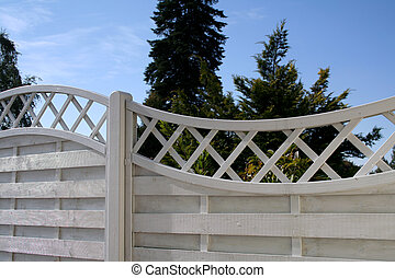 jardin, barrière