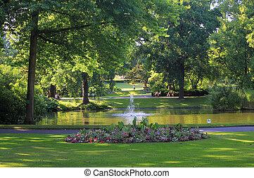 Jardin des plantes (Nantes - France)