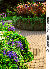 jardin, formel