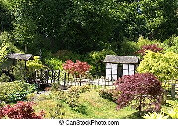 Pavillon, jardin japonais Image | csp5172935
