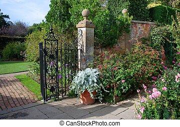 jardin pays, anglaise