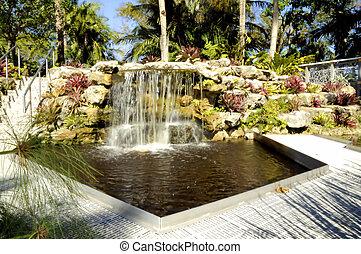 Images et photos de sunken garden 234 images et for Piscine sous jardin