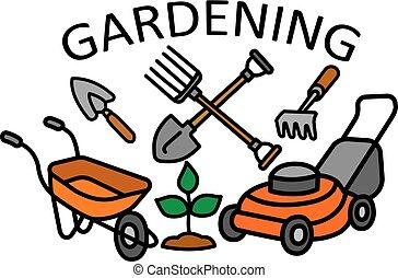 jardinage, signe