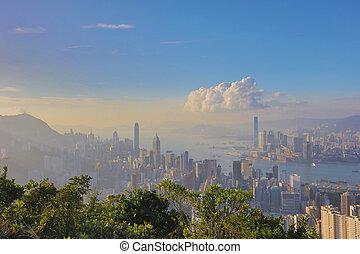 jardine, s, warte, hongkong