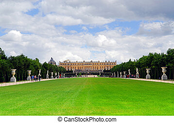 jardines, versailles, palacio