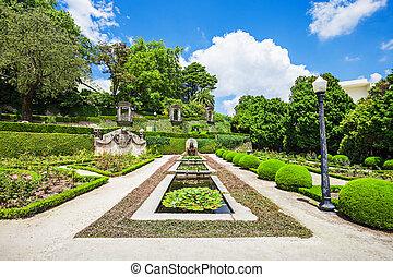 jardins, palacio, de, cristal
