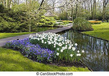 jardins, pays-bas, keukenhof, lisse