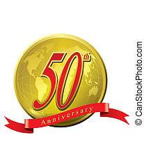 jaren, jubileum, 50