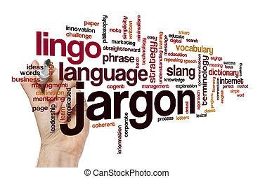 jargon, woord, wolk