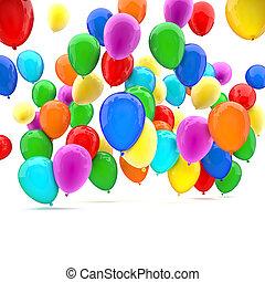 jarig, ballons